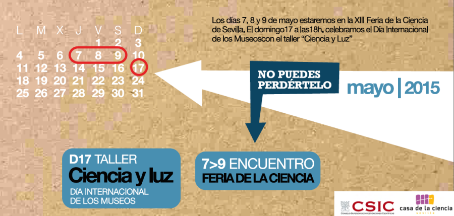 Calendario Mayo CSIC-CDLC