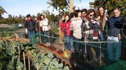 Visita a los huertos Alamillo